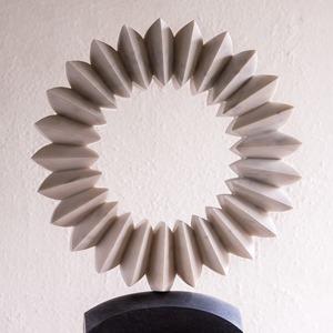 Still Cedar: PORTUGUESE MARBLE, 2013: W 60cm, H 75 cm, D 15 cm; SOLD