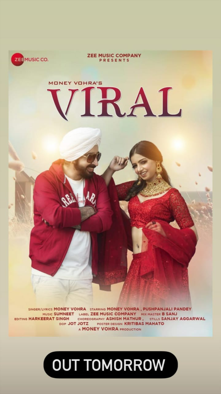 """Money Vohra's Latest Song """"Viral"""