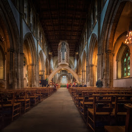 Llandaff Cathedral by Krasimir Lazarov - Buildings & Architecture Places of Worship ( church, wales, place of worship, cathedral, architecture, united kingdom )