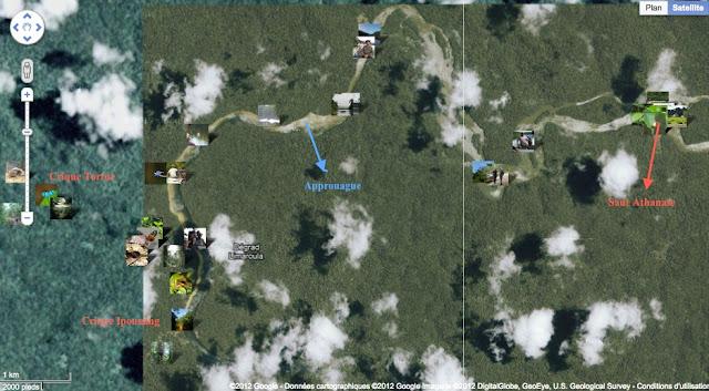 Localisation des photos autour de Saut Athanase