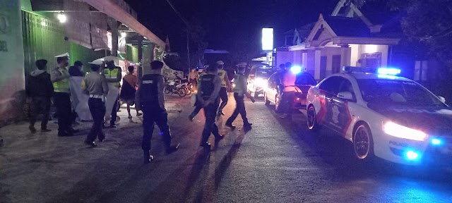 Lokasi hiburan malam Jadi sasaran petugas gabungan TNI, Polri dan satpol PP dalam rangka Operasi Yustisi