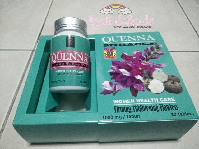 Quenna Miracle Jamu Moden Terkini Untuk Merawat Dalaman Wanita