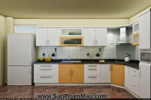 Các mẫu tủ bếp gỗ công nghiệp-7