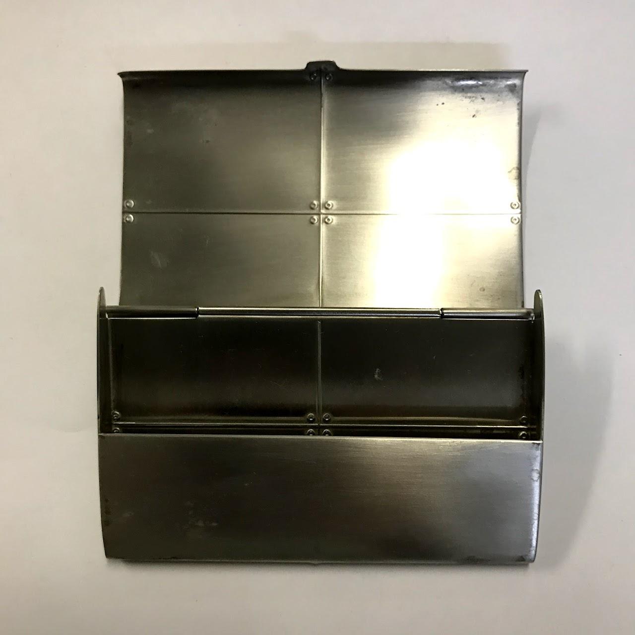 Tiffany & Co. Sterling Silver Streamerica Business Card Case ...