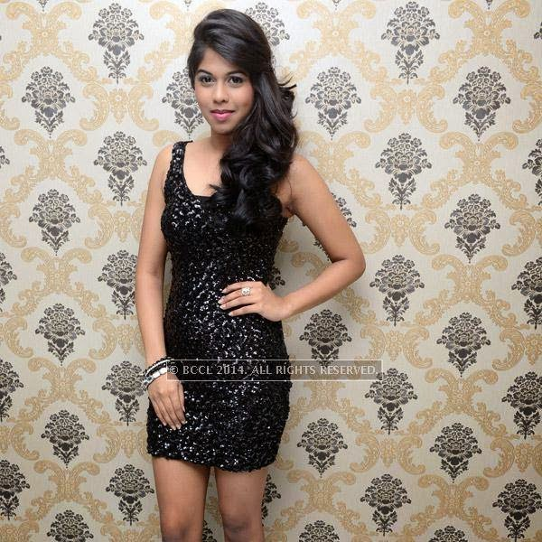 Vedya at the launch of Essensuals salon in Chennai.