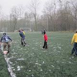 Piłka na śniegu