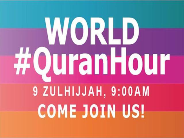 #QuranHour