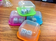 Dice in a Container