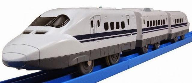 Tàu điện S-01 Shinkansen Series 700 có đèn chạy bằng pin