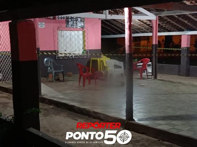 Dono de bar é morto a tiros dentro de seu próprio estabelecimento no Parque Alvorada em Timon