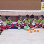 Lemonade making activity by Nursery Afternoon Section at Chikoowadi (2018 - 19)