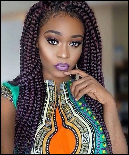 10 Pretty African American Braided Hairstyles 2018 African