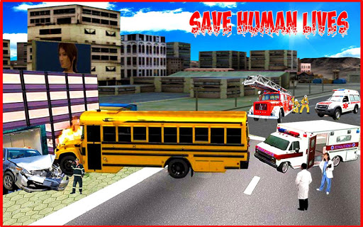 Ambulance Rescue City Duty Game