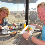 dinner at Zilt-aan-Zee with my mom in Velsen, Noord Holland, Netherlands