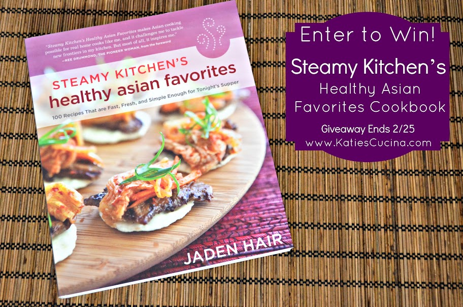 {Giveaway} Steamy Kitchen's Healthy Asian Favorites Cookbook from KatiesCucina.com