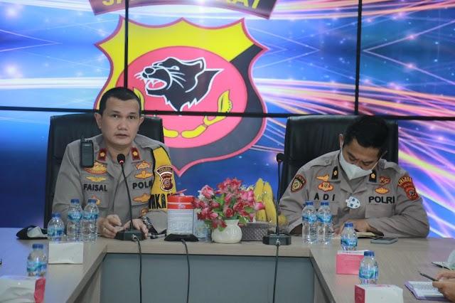 Wakapolres Karawang Pimpin Rapat Persiapan Vaksinasi Masal Dalam Rangka HUT Bhayangkara Ke 75.
