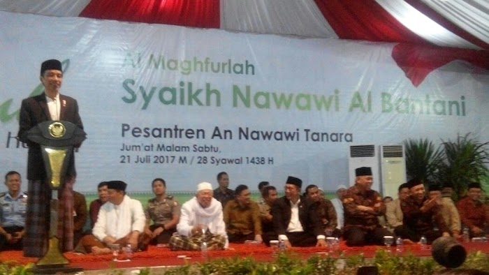 Ribuan Warga 'Ngalap Berkah' Hadiri Haul Syekh Nawawi Al-Bantani