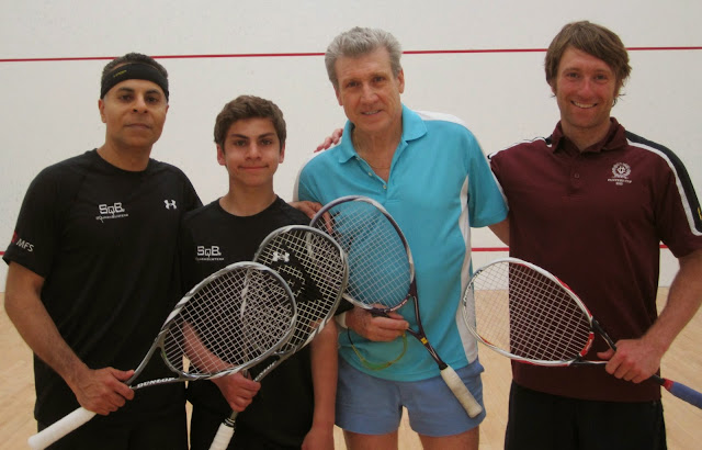 2014 State Parent-Child Doubles: Finalists - Amrit & Deven Kanwal; Champions - Tom & Morgan Poor