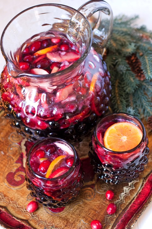 Christmas holiday sangria