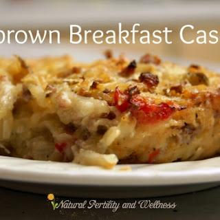 Hashbrown Breakfast Casserole {Recipe}.