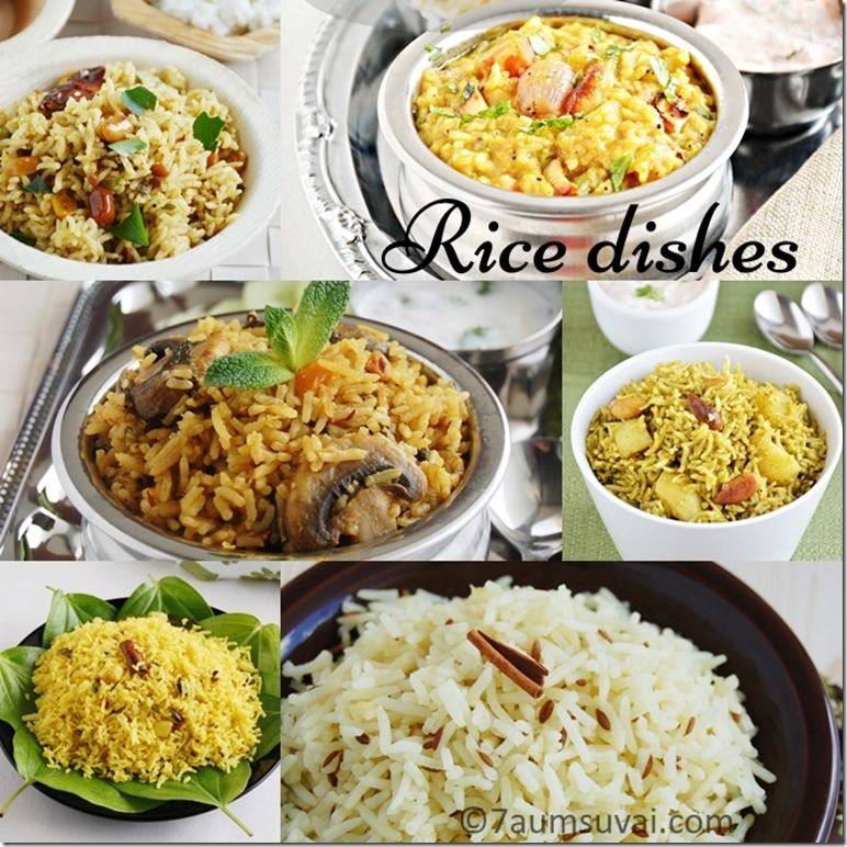 Indian rice varieties