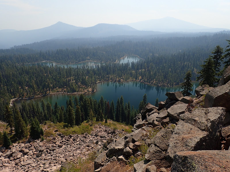 Luther Mountain Sky Lakes Wilderness Oregon