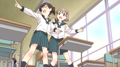 Encouragement of Climb Yama no Susume First Impressions Screenshot 4