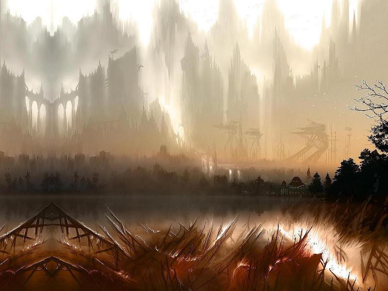 Weird Lands From Dream 7, Magical Landscapes 4
