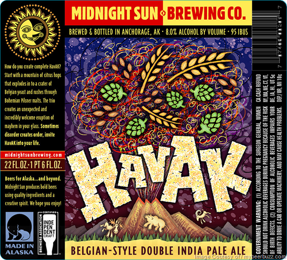 Midnight Sun Adding Tundra Wookie Belgian Dark w/Tart Cherries & Havak