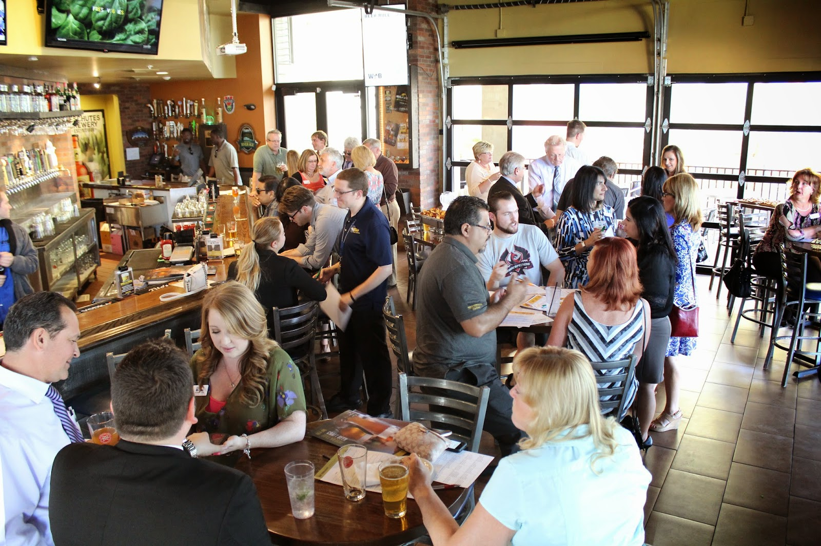 March Chamber XChange at World of Beer
