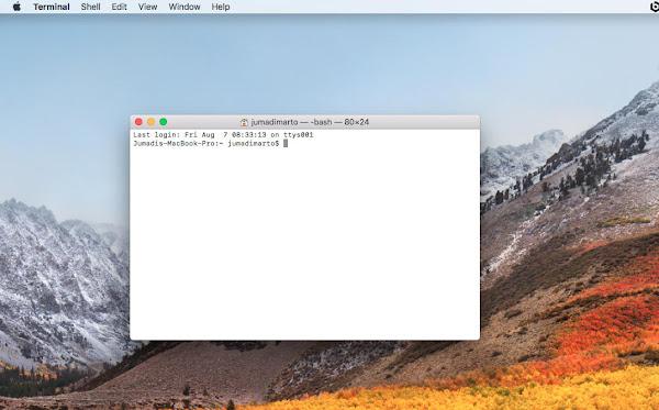 Cara SSH ke Server Menggunakan Terminal di Mac OS