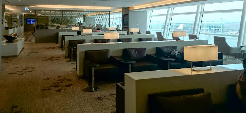 JL%252520F%252520HND LHR 46 - REVIEW - JAL First Class Lounge, Tokyo Haneda Airport