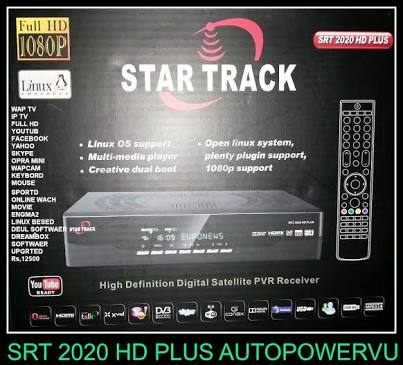 startrack 2020 hd plus new software Free Download 2017 - New Biss