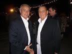 Horacio Díaz (Director de Turismo de Maldonado) y Carlos García Santos (Presidente de Destino Punta del Este)