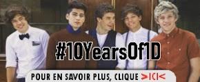 Fêtons les 10 ans de One Direction