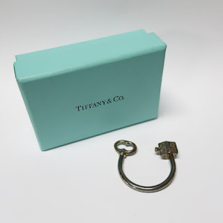 Tiffany & Co. Sterling Silver Key Ring
