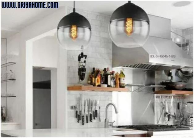Desain dan Konsep Lampu Gantung Warna Hitam