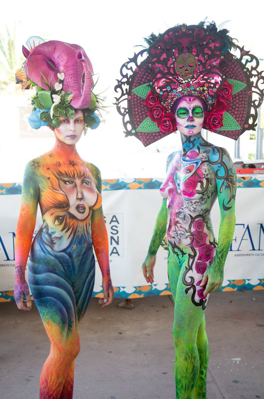 IMG_4918 Color Sea Festival 2018 - Bodypainting a Fano