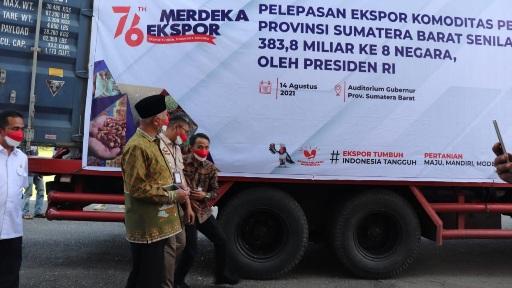 """Ekspor Produk Pertanian 383,8 Miliar, Bukti RPJMD 2021-2026 Sumbar """"On The Track"""""""