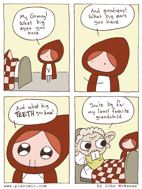 Pie Comic - Little Red Riding Hood, Least Favorite Grandchild