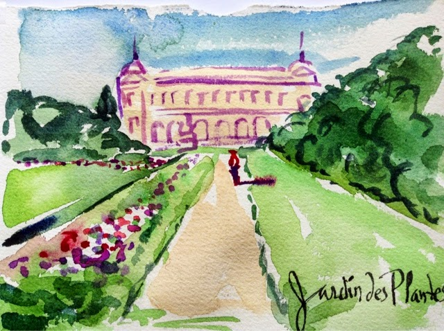 Paris breakfasts jardin des plantes aroma zone mamie for Jardin des plantes