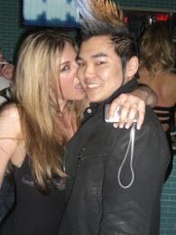 Dj Fuji At Work With Girl