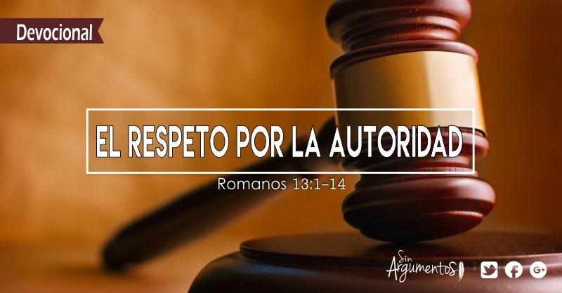DEVOCIONAL Romanos 13.1-14
