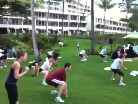 Tony Horton On Plyo Legs Training, Tony Horton