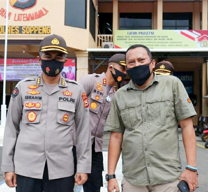 Kabid Humas Polda Sulsel Apresiasi IWO Soppeng, Jalinan Kemitraan Dengan Polres