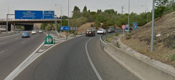 Actuaciones para minimizar el ruido de la M-40 en Aravaca