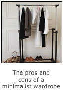 pros and cons of minimalist wardrobe