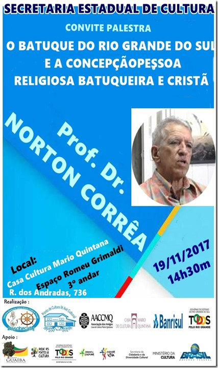 Convite  PROFESSOR  NORTON