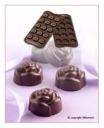 Cetakan Coklat SCG13-Rose