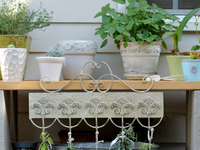 Potting Table Herb Garden